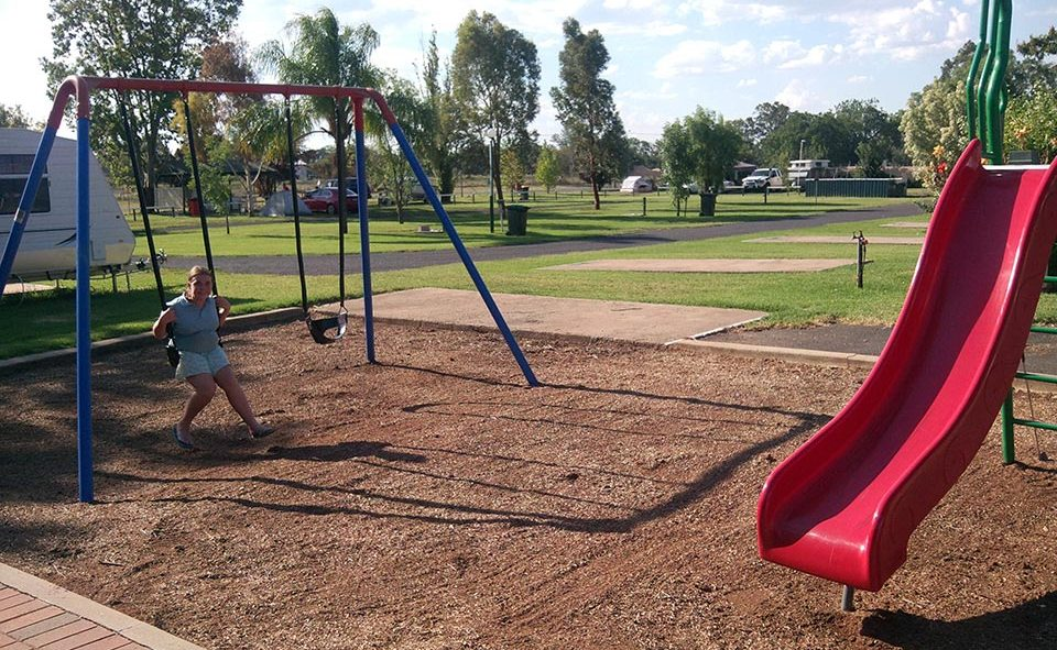 The kids will enjoy our child-safe playground